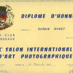 1958, FOTO CLUB BORDEAUX, dyplom honorowy_1024x739