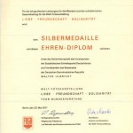 1971, SREBRNY MEDAL, DDR_553x768