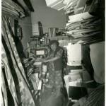 Zofia Rydet w ciemni,l.90-te.XXw._fot.Autor Nieznany_586x768